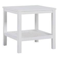 Findlay Mango Wood & Rattan Side Table