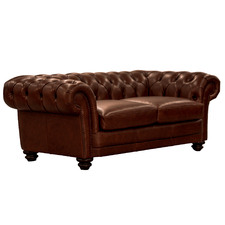 Butterscotch Crossley 2.5 Seater Leather Sofa