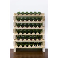 6 Layers of 6 Bottles Wine Rack