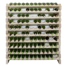10 Layers of 12 Bottles Wine Rack