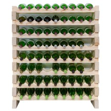 8 Layers of 9 Bottles Wine Rack