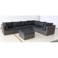 5 Seater Mornington Outdoor Lounge & Table Set