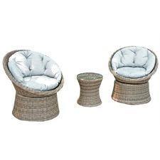 2 Seater Como Outdoor Chair & Coffee Table Set