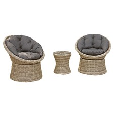 2 Seater Como Outdoor Chair & Coffee Table Set