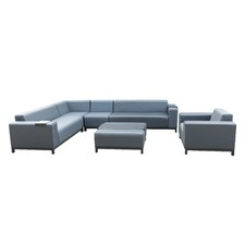 6 Seater Brighton Outdoor Lounge Set