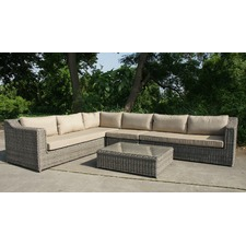 5 Piece Dubai Outdoor Lounge & Table Set