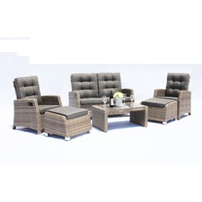 4 Seater Positano Outdoor Lounge & Table Set