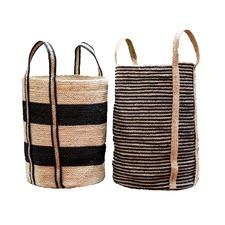 2 Piece Felicity Jute Basket Set