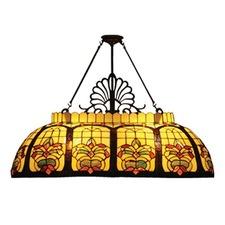 Floral Billiards Lamp