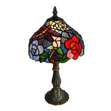 Leadlight Table Lamp 37cm