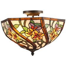 Tiffany Bagno Close to Ceiling Light