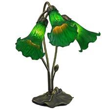Three Branch Gooseneck Lily Lamp