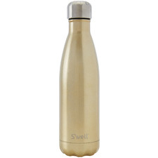 Sparkling Champagne Glitter 500ml Water Bottle