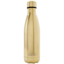 Gold Metallic 500ml Water Bottle