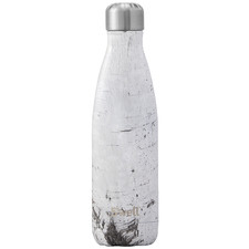 White Wood 500ml Water Bottle