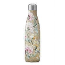 Vintage Rose Sequin 500ml Insulated Water Bottle