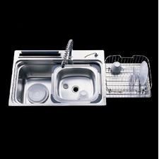 VSS Series Large Single Bowl Kitchen Sink with Accessories