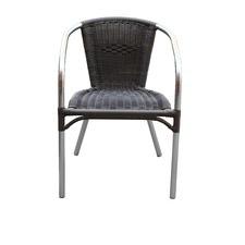 Malaga Sturdy PVC Rattan Outdoor Armchair