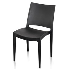 Venetia Plastic Cafe Chair (Set of 4)