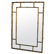 Gold Limoges Mirror