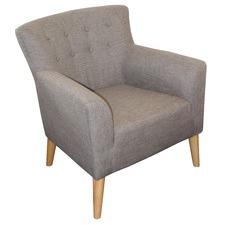 Kirk Upholstered Modern Armchair