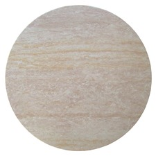 Travertine Round Resin Table Top