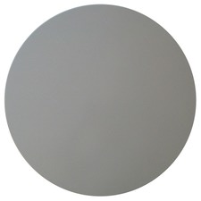 White 60cm Round Resin Table Top