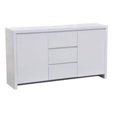 Channing White Gloss Sideboard Buffet