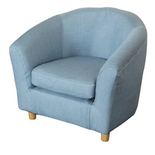 Kids' Upholstered Tub Chair