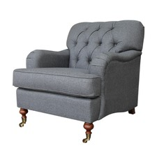 Button Tufted Willoughby Armchair