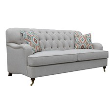 Button Tufted Willoughby 3 Seater Sofa
