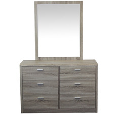 Coby Dressing Table with Mirror