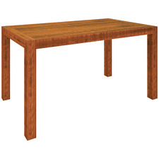 Arcadia Pine Wood Bar Table
