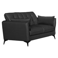 Brice 2 Seater Leather Sofa