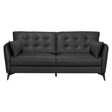 Brice 3 Seater Leather Sofa