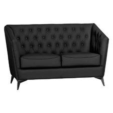 Lupton 2 Seater Faux Leather Sofa