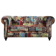 2 Seater Celia Velvet Sofa