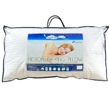 Cloud Support Microplush King Pillow