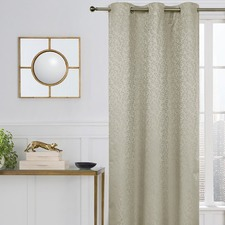 Stone Seabold Single Panel Eyelet Curtain