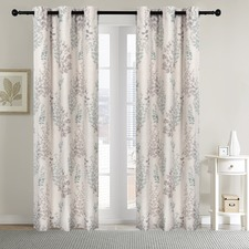 Neive Panel Eyelet Curtains (Set of 2)
