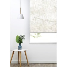 Natural Faux Linen Roller Blind