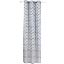 Wave Single Panel Eyelet Curtain