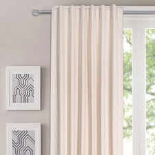 Classic Single Panel Concealed Tab Top Curtain