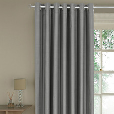Rock Single Panel Eyelet Curtain