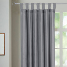 Morgan Single Panel Tab Top Curtain