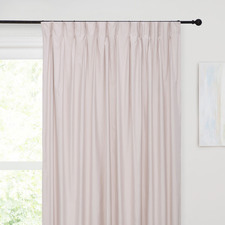 Pink Albany Pinch Pleat Blockout Curtains (Set of 2)