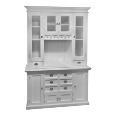 Halifax Hutch Kitchen Cabinet and Buffet Base
