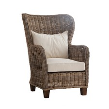 King Chair with Back and Seat Cushions