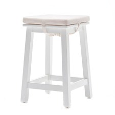 Matt White Coastal Stool