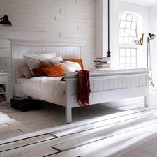 Coastal Queen Bed with Footboard